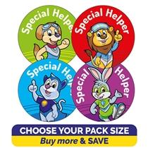 Special Helper Stickers (32mm) Brainwaves