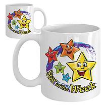 Star of the Week Ceramic Mug - Swirl