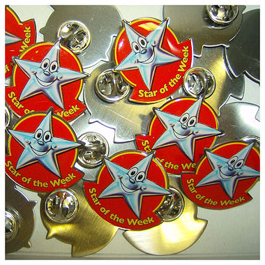 Star Of The Week Enamel Badges (10 Badges)