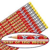 Star of the Week Pencils (12 Pencils)