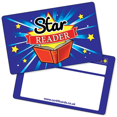 Star Reader CertifiCARDS (10 Wallet Sized Cards)