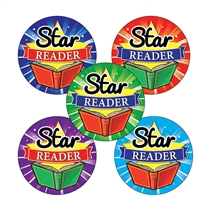 Star Reader Stickers (30 Stickers - 25mm)