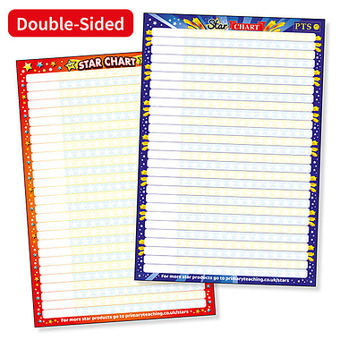 Star Sticker Collector Chart (A2 - 620mm x 420mm)