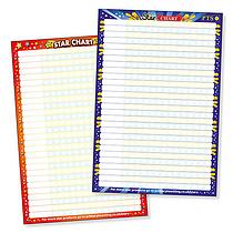 Star Sticker Collector Chart (A2 - 620mm x 420mm)