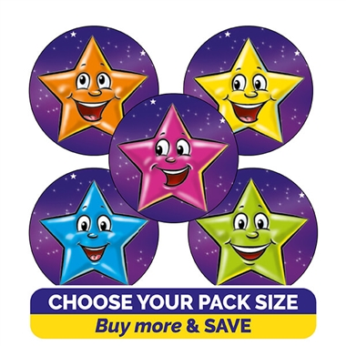 Star Stickers (25mm)