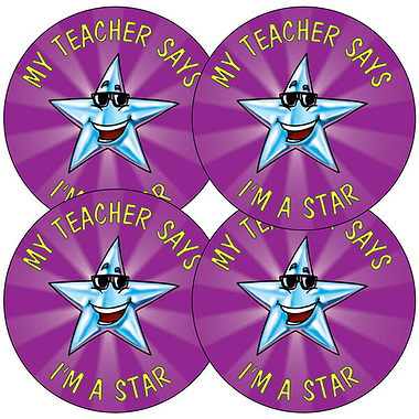 Star Stickers (35 Stickers - 37mm)