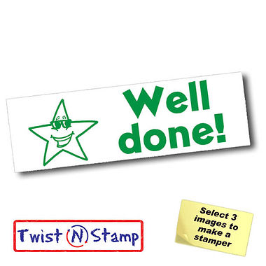 Star Well Done Stamper - Twist N Stamp