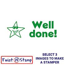 Star Well Done Stamper - Twist N Stamp