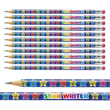 Star Writer Pencils (12 Pencils)