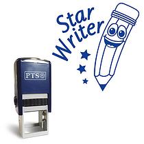 Star Writer Stamper - Blue Ink (25mm)