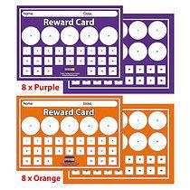 Sticker Reward Cards - House Colour (16 Cards - A5)