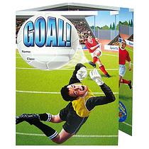 Sticker Saver Reward Cards - Football Scene (10 Cards - A5)