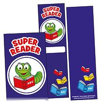 Super Reader Bookmarks (30 Bookmarks - 60mm x 210mm)