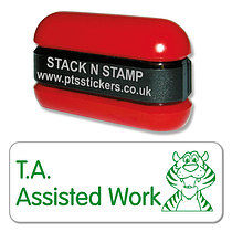 T.A. Assisted Work Stamper - Stack N Stamp