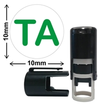 TA Mini Stamper - Green Ink (10mm)