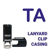 TA Stamper - Blue Ink (10mm)