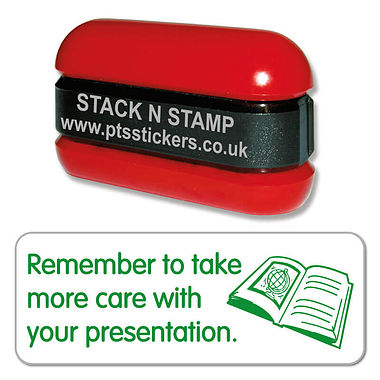 Take Care With Presentation Stamper - Stack N Stamp