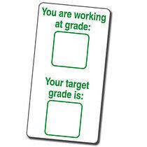 Target Grade Stamper - Green Ink (42mm x 22mm)