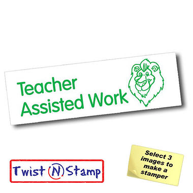 Teacher Assisted Work Stamper - Twist N Stamp