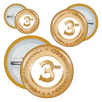 Third Badges - Bronze (10 Badges)