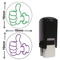 Thumbs Up Stamper (10mm)