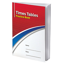 Times Tables Practice Book (A5) Home Learning