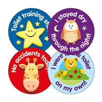 Toilet Training Stickers (20 Stickers - 32mm) Brainwaves