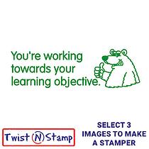 Towards Learning Objective Bear Stamper - Twist N Stamp