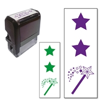 Two Stars and a Wish Stamper (38mm x 15mm)