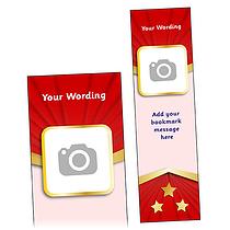 Upload A Photo/Image Bookmark (A5)