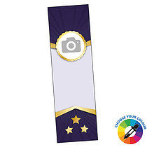 Upload A Photo/Image Bookmarks - Circle (A5)