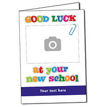 Upload Your Own Image Good Luck Greeting Card (A5)