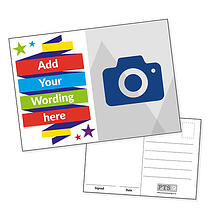 Upload Your Own Image Postcards - Banner (A6)