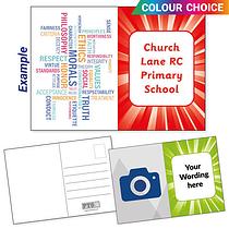 Upload Your Own Image Postcards - Burst (A6)