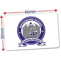 Upload your own image Sticker (32 per sheet - 46mm x 30mm)