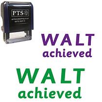WALT Achieved Stamper (38mm x 15mm)