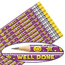 Well Done Pencils (12 Pencils) Brainwaves