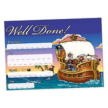 Well Done Pirate Certificates (20 Certificates - A5)