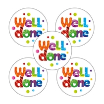 Well Done Stickers (30 Stickers - 25mm)