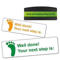Well Done! Your Next Step is Stakz Stamper (44mm x 13mm)