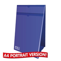 Worksheet Holder - Blue (FREE - see below) (A4 Portrait - Double Sided)