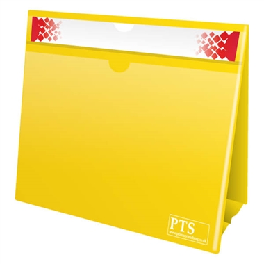 Worksheet Holder - Yellow (Double Sided)
