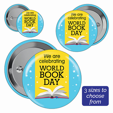 World Book Day Badges (10 Badges)