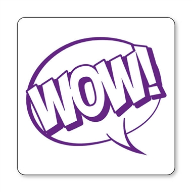 WOW! Speech Bubble Stamper - Purple Ink (25mm)
