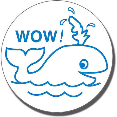 Wow Stamper - Whale (21mm)