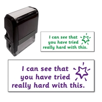 You Have Tried Really Hard With This' Stamper (38mm x 14mm)