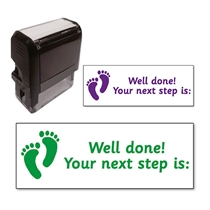 Your Next Step is Stamper (38mm x 15mm)
