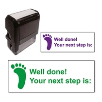 Your Next Step is: Stamper (38mm x 15mm)