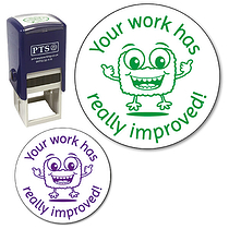 Your Work Has Really Improved Stamper (25mm)