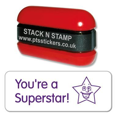 You're a Superstar Stack & Stamp - Purple Ink (38mm x 15mm)
